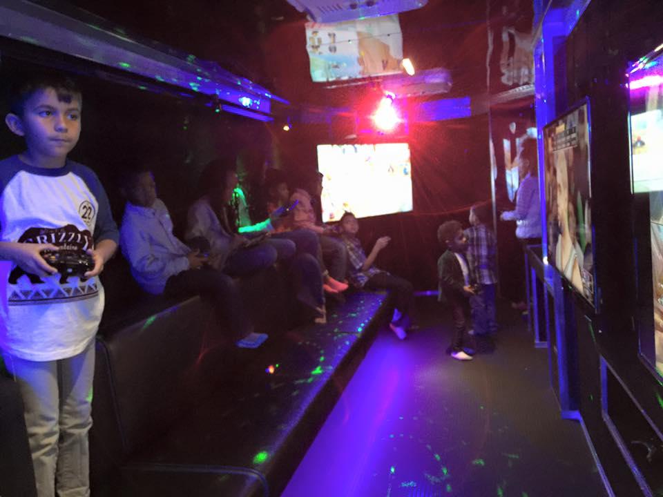 blue-with-laser-lights
