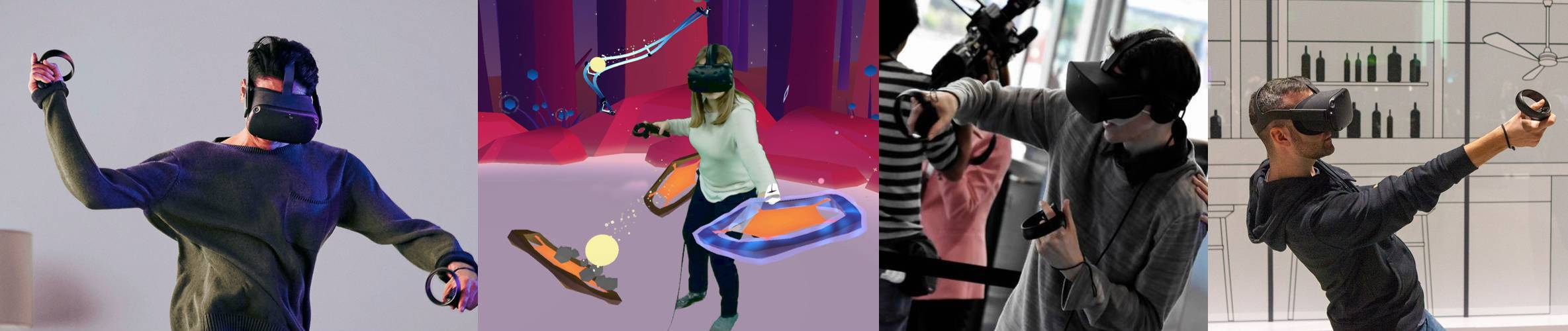 Oculus Quest VR gaming virtual reality party in Houston, Texas
