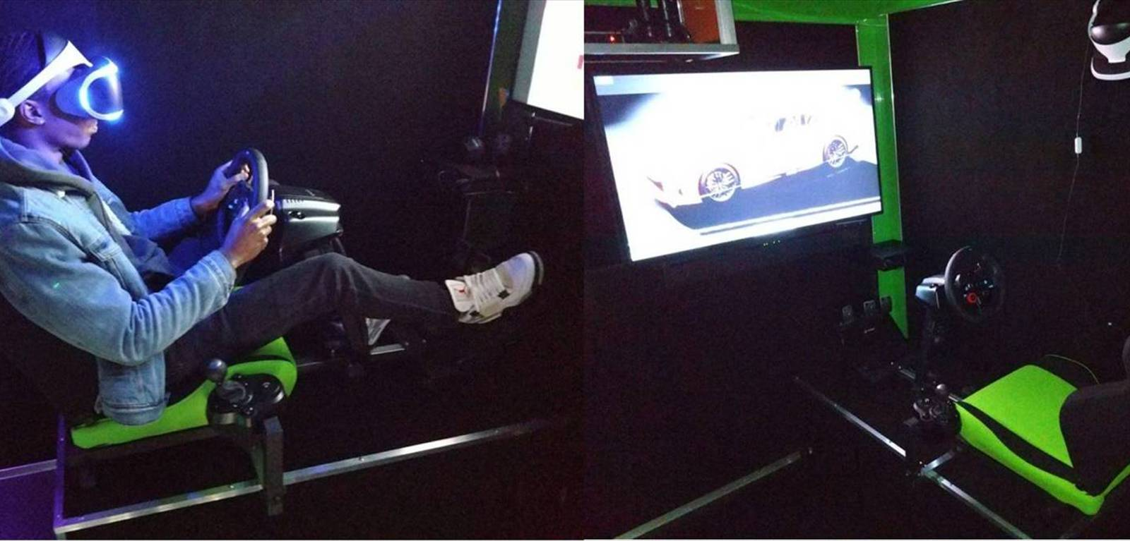 Our Virtual Reality Racing Simulator is AMAZING!