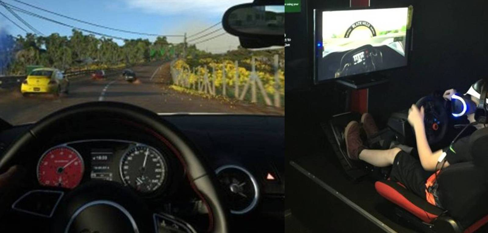 Virtual Reality Racing Simulator!